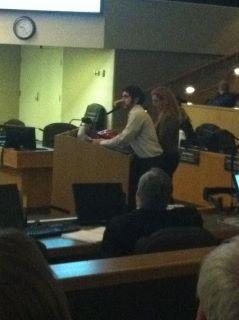 SCU Presents at City Council