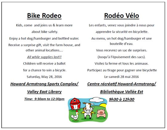 Bike Rodeo - Valley East